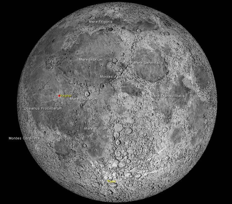 Osservare la Luna piena