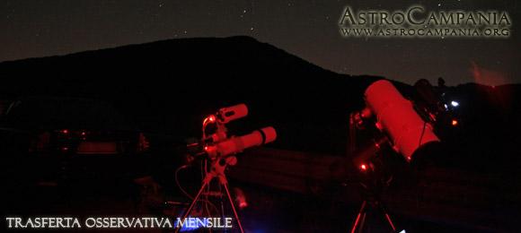 Trasferta osservativa al monte Paipo – novembre 2015