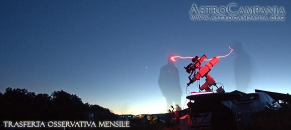 Trasferta Osservativa Mensile – 19 Maggio 2012