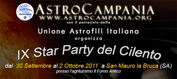 IX Star Party del Cilento