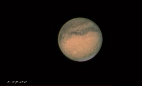 Marte – opposizione 2012