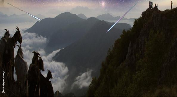 …dalle 'vie Sulitarie' alla via Lattea …. ( La Notte delle Stelle )