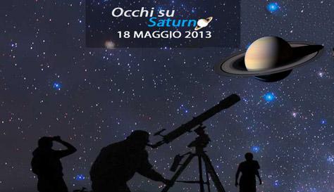 Occhi su Saturno – 18 maggio 2013