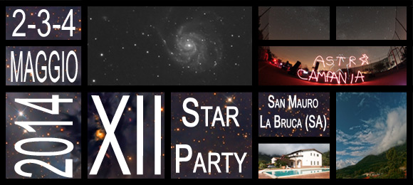 XII STAR PARTY DEL CILENTO