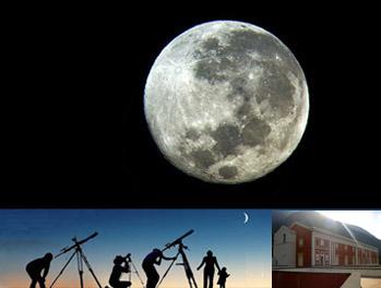 LA LUNA TRA I MONTI – ( notte della Luna alla Reggia )