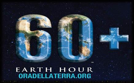 Earth hour – Ora della Terra 2015