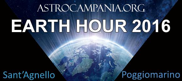 Earth hour – Ora della Terra 2016