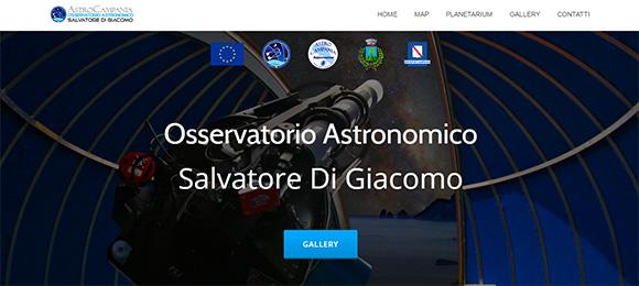 Sito Osservatorio Astronomico Salvatore Di Giacomo