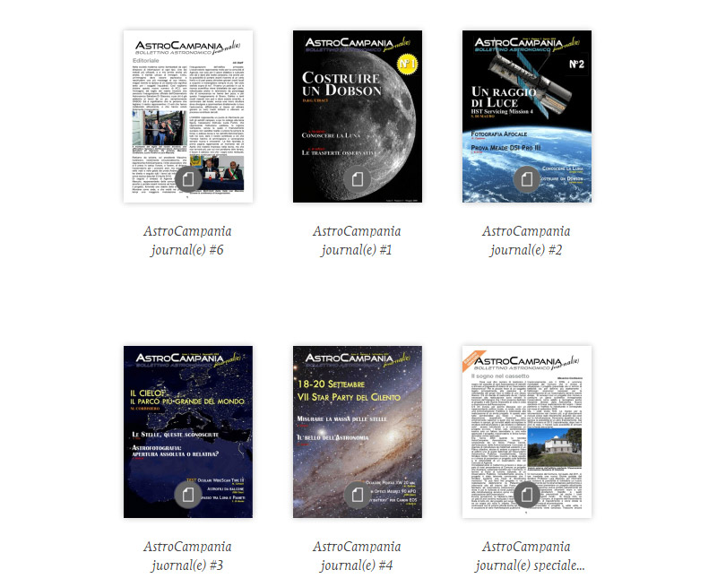 ACJ – AstroCampania Journal(e)