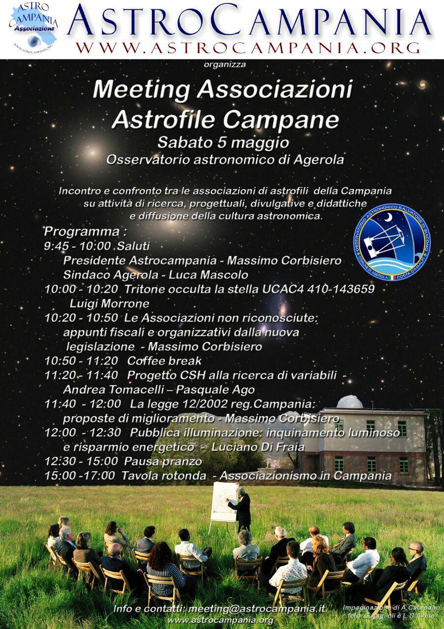 Meeting Associazioni Astrofile Campane 2018