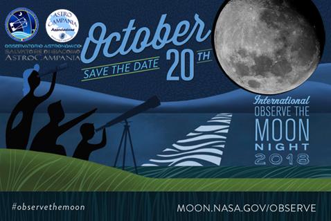 la Notte della Luna ad Agerola – 20 ottobre 2018