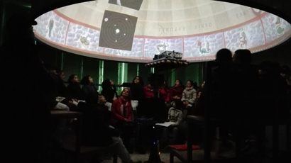 Attività didattica di Astronomia presso l'osservatorio