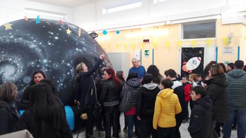 Attività didattica di Astronomia presso le scuole