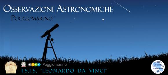 Serata di astronomia a Poggiomarino 3 maggio 2019