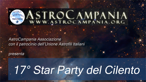 XVII Star Party del Cilento