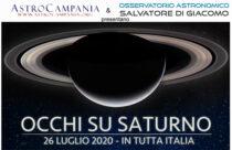OCCHI SU SATURNO 26 LUGLIO 2020 – VISITA su Prenotazione
