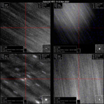 Osservazioni di Follow-Up di asteroidi Near Earth – novembre 2020