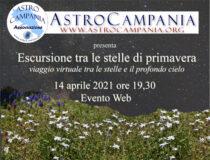 Escursione tra le stelle di primavera 14 aprile 2021