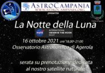 Notte della Luna – Evento in Osservatorio 16 ottobre 2021
